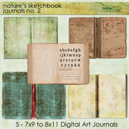 Nature's Sketchbook - Journals 2