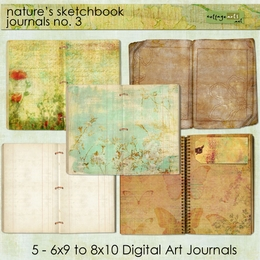Nature's Sketchbook - Journals 3