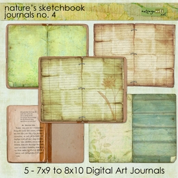 Nature's Sketchbook - Journals 4