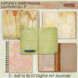 Nature's Sketchbook - Journals 9