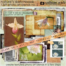 Nature's Sketchbook - Photo Art Blends 2