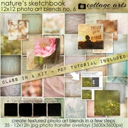 Nature's Sketchbook - Photo Art Blends 6