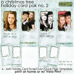 O Christmas Tree Holiday Cards 2