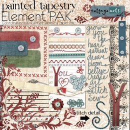 Painted Tapestry Element Pak