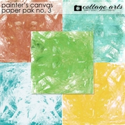 Painter's Canvas 3 Paper Pak