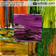 Painter's Canvas 6 Paper Pak