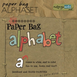 Paper Bag AlphaSet