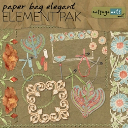 Paper Bag Elegant Element Pak