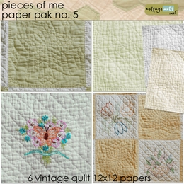 Pieces of Me 5 Paper Pak