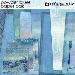 Powder Blues Paper Pak