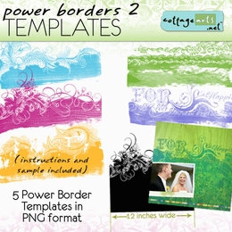 Power Borders 2 Templates