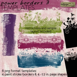 Power Borders 3 Templates
