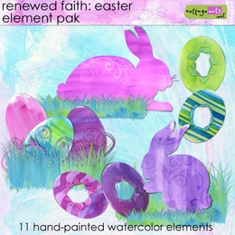 Renewed Faith Easter Element Pak