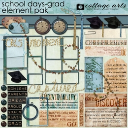 School Days - Grad Element Pak