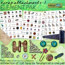 Scrap Attachments 1 Element Pak