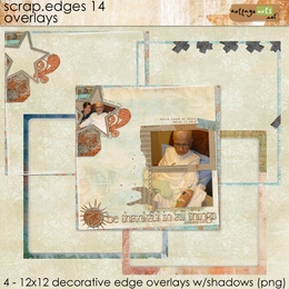 Scrap.Edges 14 - 12x12 Overlays