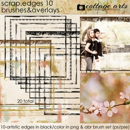 Scrap.Edges10 Brushes & Overlays