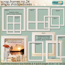 Scrap.Frames 24 - Simply Shadowboxes