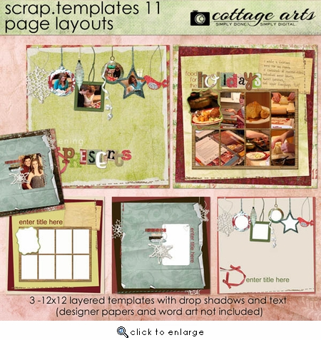Scrap Templates 11 - Page Layouts