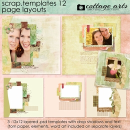 Scrap Templates 12 - Page Layouts