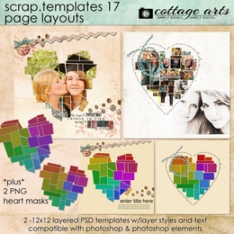 Scrap Templates 17 - Page Layouts
