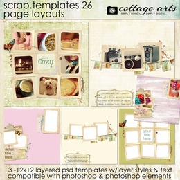 Scrap Templates 26 - Page Layouts