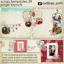Scrap Templates 39 - Page Layouts