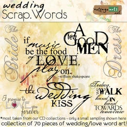 Scrap.Words -  Wedding