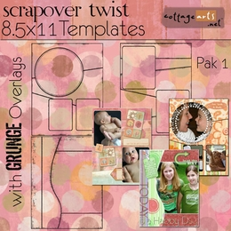 ScrapOver Twist 8.5x11 3-Pak Collection 1
