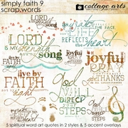 Simply Faith 9 Scrap.Words