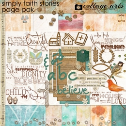 Simply Faith Stories Page Pak