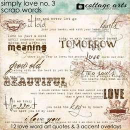 Simply Love 3 Scrap.Words
