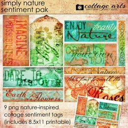 Simply Nature 1 Sentiment Pak