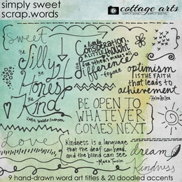 Simply Sweet Scrap.Words