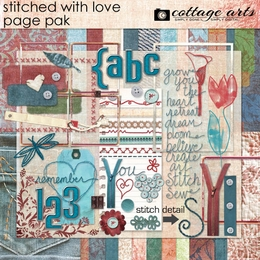 Stitched With Love Page Pak