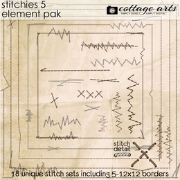 Stitchies 5 Element Pak