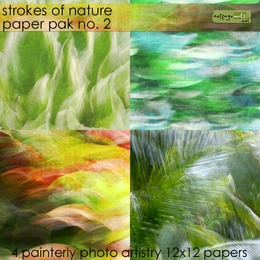 Strokes of Nature 2 Paper Pak