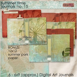 Summer Time Journal Pak 15