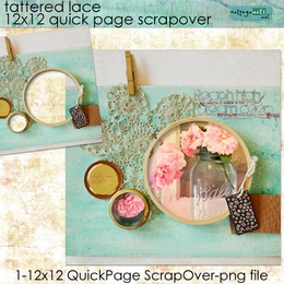 Tattered Lace ScrapOver Quick Page