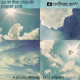 Up in the Clouds Paper Pak