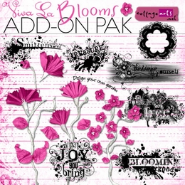 Viva La Blooms Add-On Pak