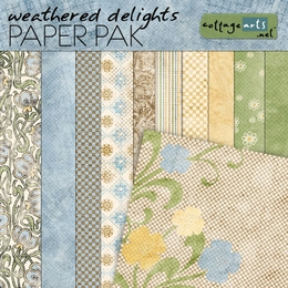 Weathered Delights Paper Pak