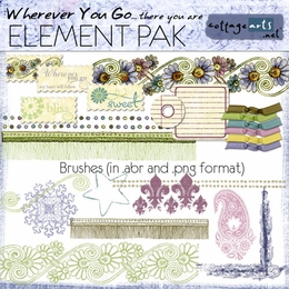Wherever You Go Element Pak