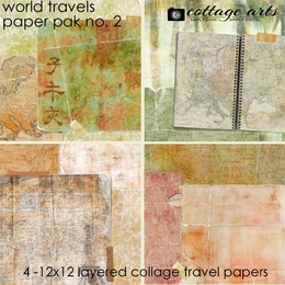 World Travels 2 Paper Pak