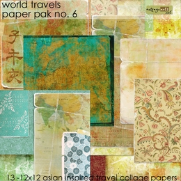 World Travels 6 Paper Pak