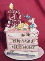50th Birthday - Blue Sky & Clayworks