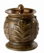 ACANTHUS BROWN Fragrance Warmer - Wax Melter -  AmbiEscents