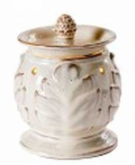 ACANTHUS CREAM Fragrance Warmer - Wax Melter -  AmbiEscents