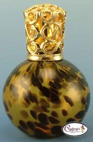 Amber Leopard Rio Fragrance Lamp by Courtneys