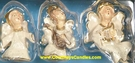 Angel Ornaments 6 Pack - Clayworks & Blue Sky 2004